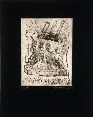 Artist: Peter Voulkos, Title: Untitled, 2000 - click for larger image