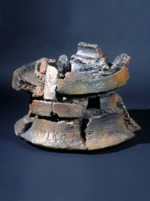 Artist: Peter Voulkos, Title: Untitled Ice Bucket, 1998 - click for larger image