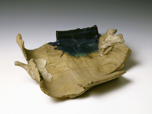 Artist: Peter Voulkos, Title: Untitled Plate, 1963 - click for larger image