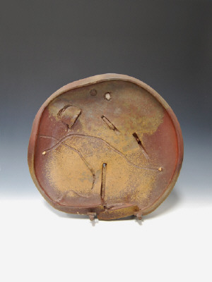 Artist: Peter Voulkos, Title: Untitled Plate, 1980 - click for larger image