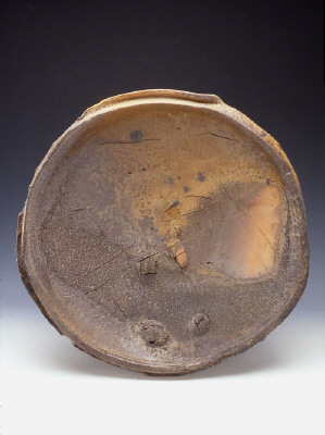 Artist: Peter Voulkos, Title: Untitled Plate, 1981 - click for larger image