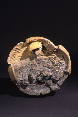 Artist: Peter Voulkos, Title: Untitled Plate, 1999 - click for larger image