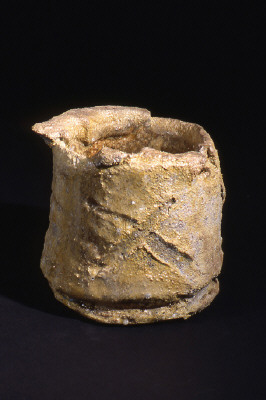 Artist: Peter Voulkos, Title: Untitled Tea Bowl, 1999 - click for larger image