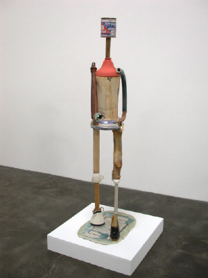 Artist: Richard Shaw, Title: Inko Figure with Black Pump, 2003 - click for larger image