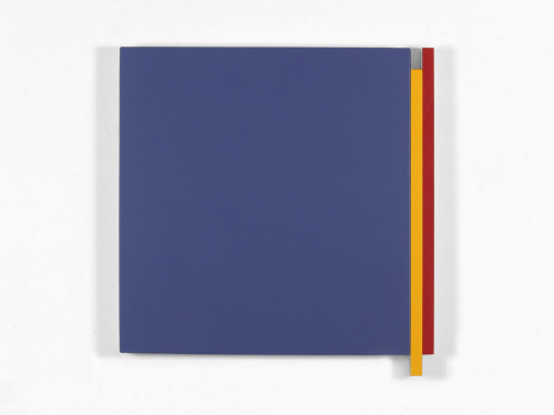 Artist: Scot Heywood, Title: Double Edge Blue, Yellow, Red, 2009 - click for larger image