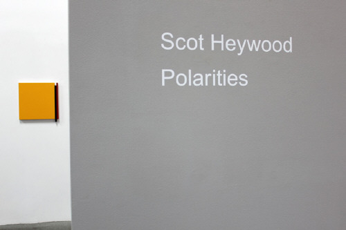 Artist: Scot Heywood, Title: Installation View: Untitled Red, Yellow, Blue, 2011 - click for larger image