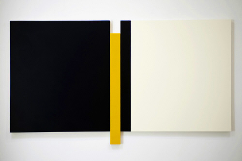 Artist: Scot Heywood, Title: Sunyata Blue, Yellow, White, 2009 - click for larger image