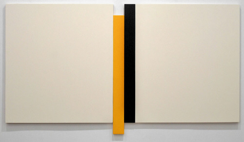 Artist: Scot Heywood, Title: Untitled White, Blue, Yellow, 2007 - click for larger image