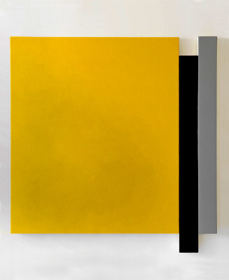 Artist: Scot Heywood, Title: Untitled Yellow, Blue, Grey, 2008 - click for larger image