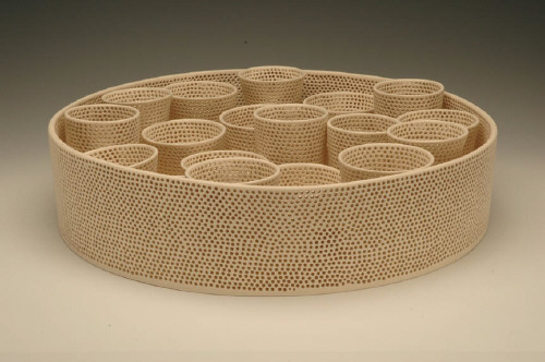 Artist: Tony Marsh, Title: Perforated Vessel (Still Life series), 2007 - click for larger image