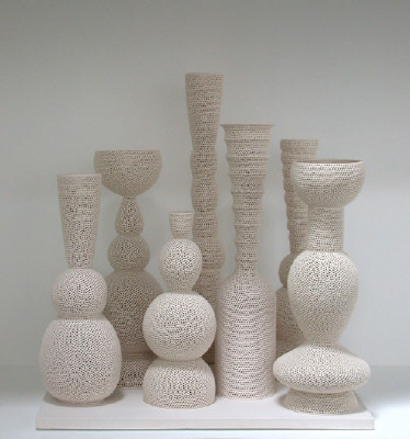 Artist: Tony Marsh, Title: Still Life (Perforated Vessel Series), 2007 - click for larger image