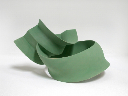 Artist: Wouter Dam, Title: Green Sculpture, 2005 - click for larger image