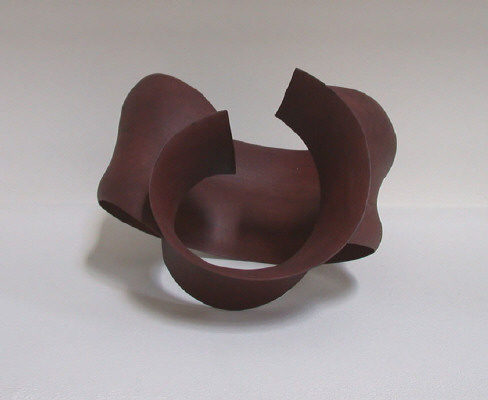 Artist: Wouter Dam, Title: Red/Brown Sculpture, 2007 - click for larger image