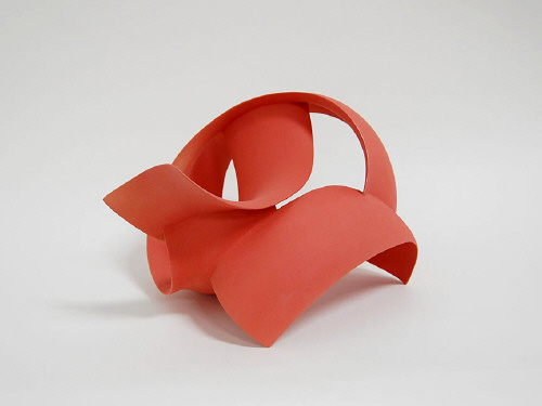 Artist: Wouter Dam, Title: Red Sculpture, 2008 - click for larger image