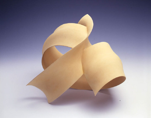 Artist: Wouter Dam, Title: Yellow Sculpture, 2005 - click for larger image